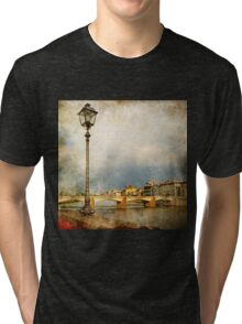Vintage Travel Photo - 6 Tri-blend T-Shirt