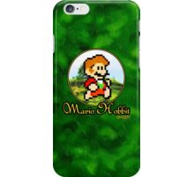 Mario Hobbit (Large) iPhone Case/Skin