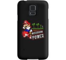 Mushroom Power Samsung Galaxy Case/Skin