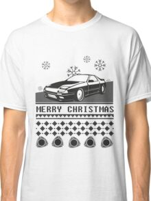 Merry Christmas rx7 Classic T-Shirt