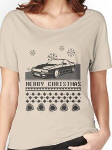 Merry Christmas rx7 Women's Relaxed Fit T-Shirt