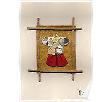 man kimono Poster
