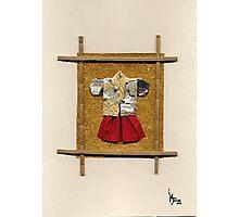 man kimono Photographic Print