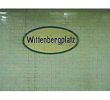 Wittenbergplatz Photographic Print