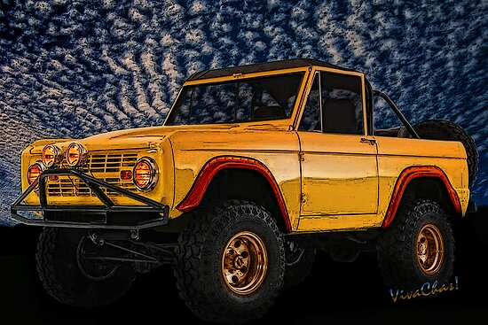 Yellow Dog Bronco Crisp Christmas Morning Romp by ChasSinklier
