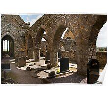 Timoleague Abbey in Ireland Poster