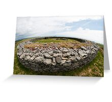 Knockdrum Stone Fort Greeting Card