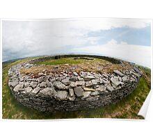 Knockdrum Stone Fort Poster