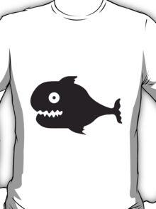 Big Comic Monster Fish T-Shirt