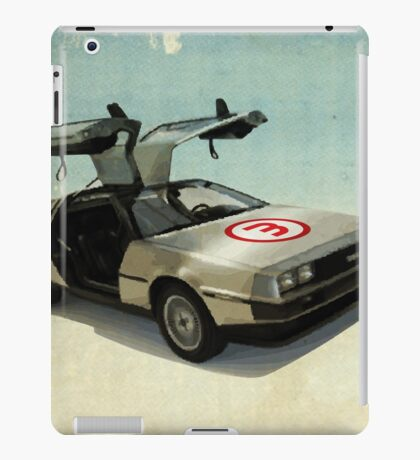 Number 3 - DeLorean iPad Case/Skin