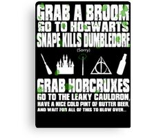 Harry of the DEAD Canvas Print