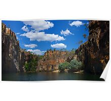 Katherine Gorge , Northern Territory Poster