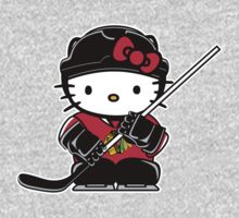 Hello Kitty Loves The Chicago Blackhawks! by endlessimages