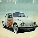 number 7 _ VW Beatle by Vin  Zzep