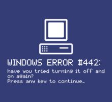 Windows Error #442 by incipient