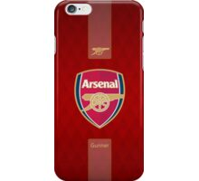 arsenal gunners london red 5 iPhone Case/Skin