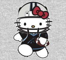 Hello Kitty Loves The Carolina Panthers! by endlessimages