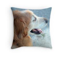 Dog Gone I Throw Pillow
