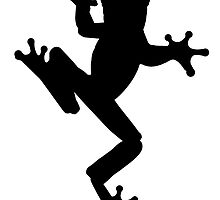 Frog Silhouette by kwg2200