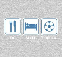 Eat Sleep Soccer Baby Tee