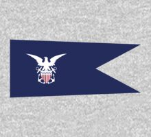 US Navy Merchant Marine Flag by cadellin