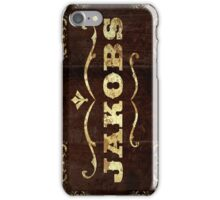 Jackobs Phone Case iPhone Case/Skin