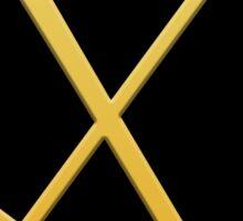 Gold pick & shovel Sticker