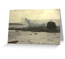 Stormy Bantry Bay Greeting Card