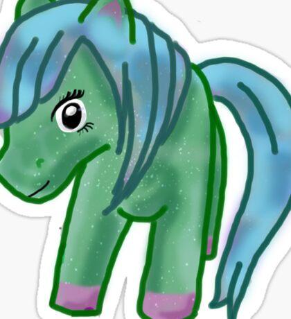 80's Pony Sticker