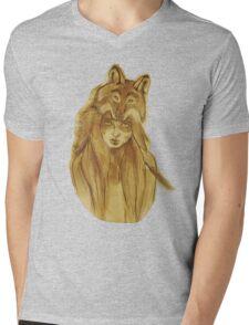Instincts Mens V-Neck T-Shirt