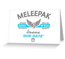 MELEEPAK Greeting Card