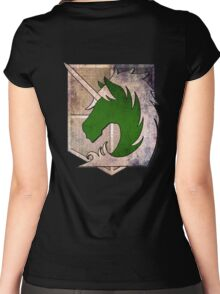 Military Police  Women's Fitted Scoop T-Shirt