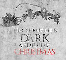 Thrones Christmas: The Night is Dark by Alice Edwards