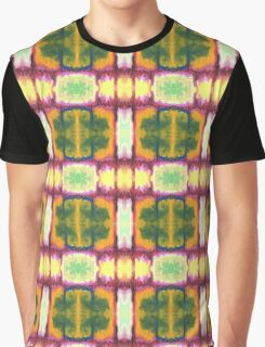 colorful rust, gold, olive blocks Graphic T-Shirt