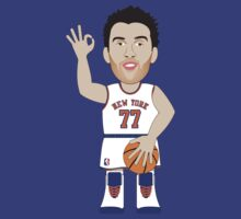 NBAToon of Andrea Bargnani, player of New York Knicks by D4RK0