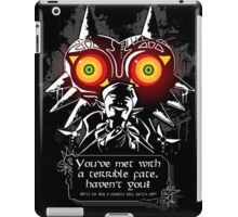 Majoras Mask - Meeting With a Terrible Fate iPad Case/Skin