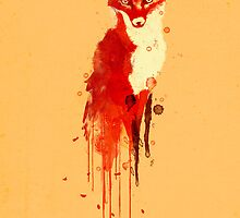 The fox, the forest spirit by Budi Kwan