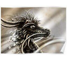 """Woodland Dragon"" Poster"