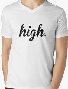 High Mens V-Neck T-Shirt