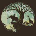 The jungle says hello by Budi Kwan