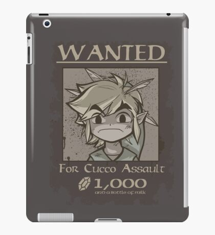 Wanted - Cucco Assault iPad Case/Skin