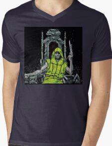 Neon Joe Werewolf Hunter Comic Mens V-Neck T-Shirt