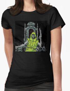 Neon Joe Werewolf Hunter Comic Womens Fitted T-Shirt