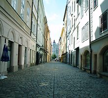 Backstreets of Prague  by Jamie Freeman