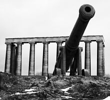 Calton Hill Cannon by Matthias Keysermann