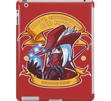 Adept, Charismatic Red Mage iPad Case/Skin