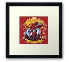 Adept, Charismatic Red Mage Framed Print