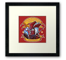 Adept, Charismatic Red Mage Framed Print