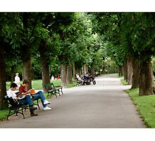 Day in the Park Photographic Print