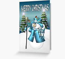 Snowmans Christmas  Greeting Card